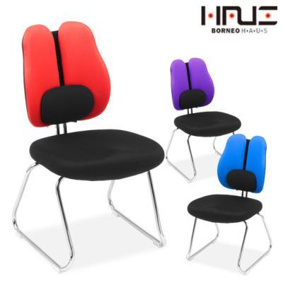 보루네오 엘리브 이지 더블요추 메쉬 의자(팔걸이) ch029