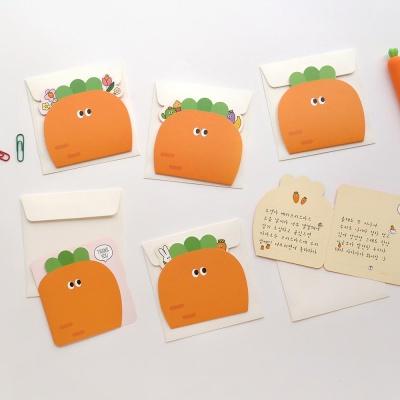 핑크풋 당근 카드(6종1세트)