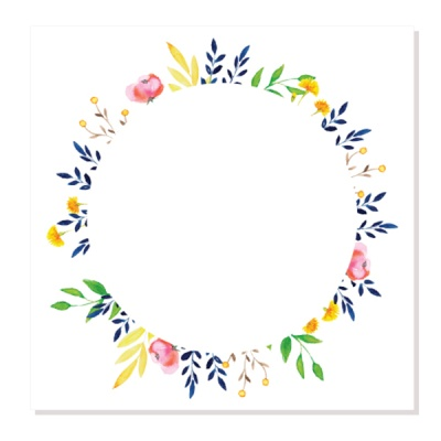 캘리그림엽서-봄날의꽃(10장)