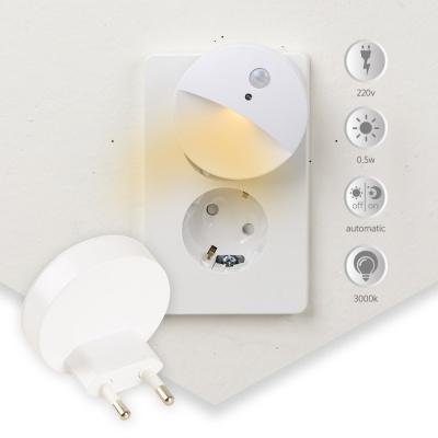 LED취침등 플러그형 220V 직결 모션센서(ZJ03009M)
