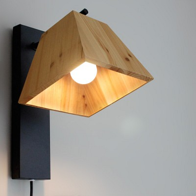 [바이빔] 트리 벽걸이[LED]-블랙