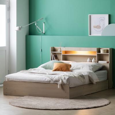 아르메 레이첼 LED 평상형 침대 Q_밸런스 독립매트