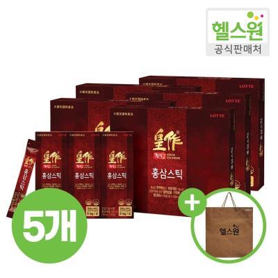 [헬스원] 황작 홍삼스틱 30포 30일분 x5개