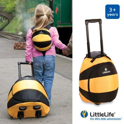 리틀라이프 애니멀 키즈 여행용 캐리어 꿀벌 L11160 어린이 가방 / LittleLife