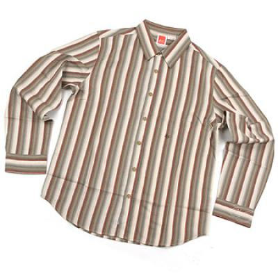 [eS] FARGO BUTTON-UP L/S SHIRTS (Brown)