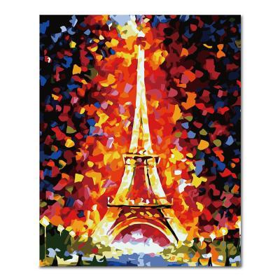 DIY 페인팅 다채로운 에펠탑 PH16 (40X50)