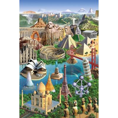 1000피스 직소퍼즐 - 세계의 명소