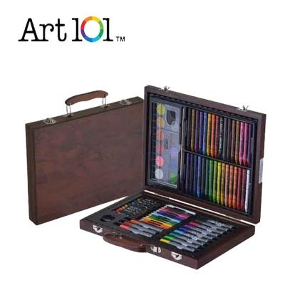 아트101 Wood Basic 82P/색연필/파스텔/미술세트