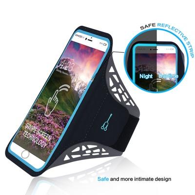 네오 터치 스마트폰 암밴드(대) (블랙)