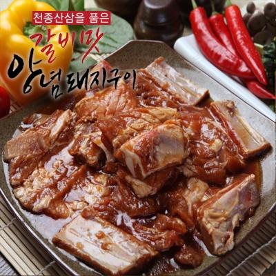 천종산삼으로 숙성시킨 갈비맛 양념돼지구이 1.5kg