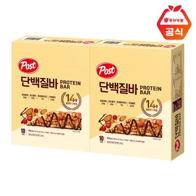 포스트 단백질바 500g 2개