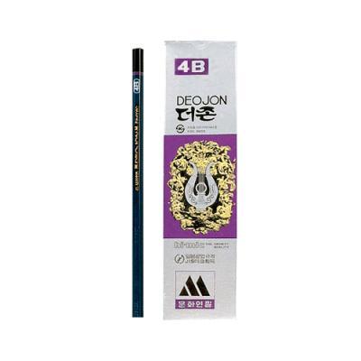 더존연필 4B (타) 86844