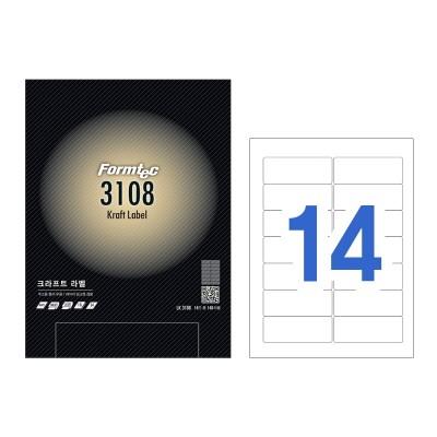폼텍 크라프트 라벨/LK-3108