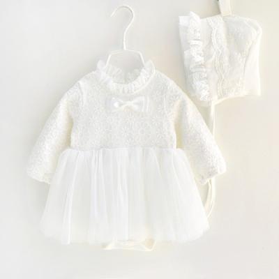 아기천사 보넷 유아 드레스 (0-18개월) 300126