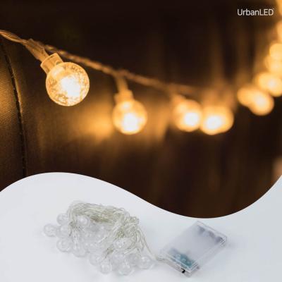 어반 LED 버블전구 20구 기본점멸형