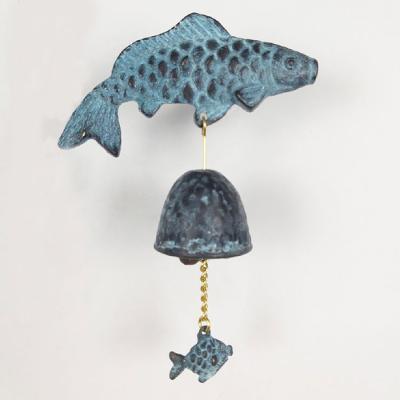 Bronze 청동 잉어 풍경 오른쪽 현관 문종 CH1563220