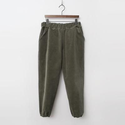 Easy Corduroy Jogger Pants