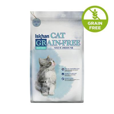 이즈칸 캣 그레인프리 키튼 2.5kg 고양이 사료