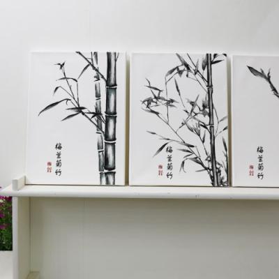 td529-캔버스액자33.4x24.2_대나무그림
