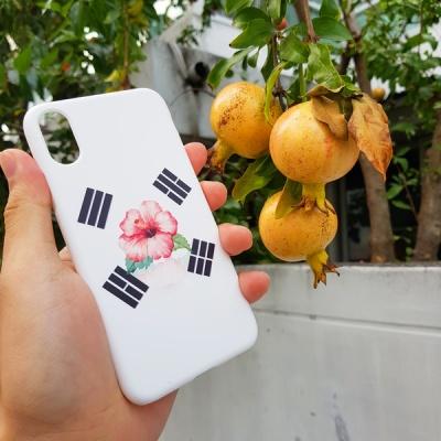 [터프케이스] 무궁화 태극기 화이트 스마트폰 케이스