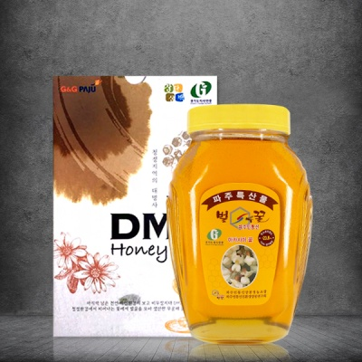 파주 DMZ지역 자연산 100% 아카시아 꿀 2.4kg