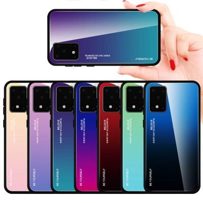 갤럭시s10/플러스/s10e 강화유리 슬림핏 핸드폰케이스