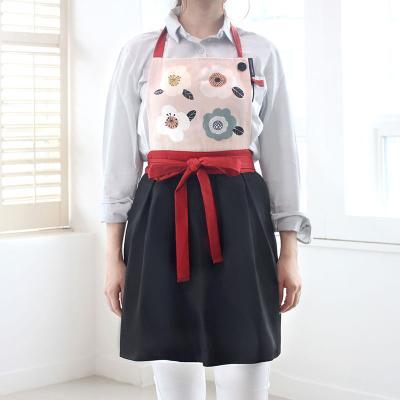 귀여운 패션 에이프런 앞치마 보니플라워