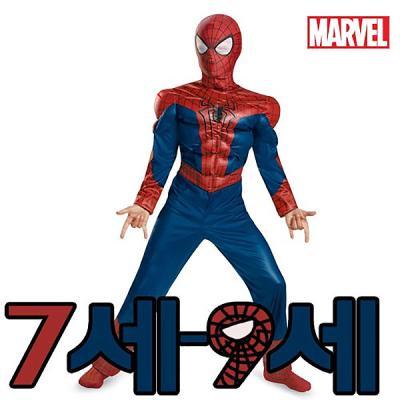 스파이더맨2머슬 코스튬(7-9세)