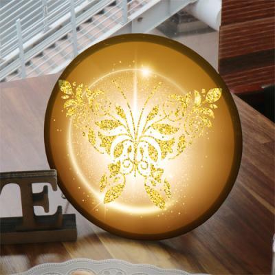 na756-LED액자25R_금빛나비