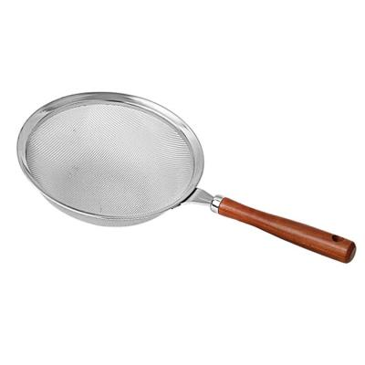 요리를 즐겁게 스테인레스 원목건지기 대 21cm