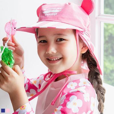 콧수염 유아 방수 플랩캡(0-10세) 204157