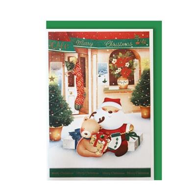 크리스마스카드/성탄절/트리/산타 따뜻한 크리스마스 (FS151s-2)