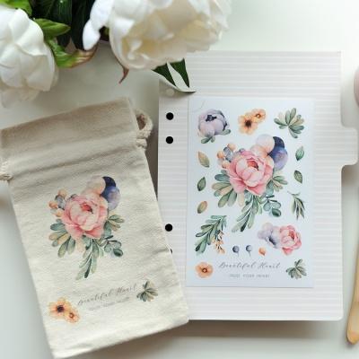 Miccudo 프린팅 스티커 세트 (5. Wedding Bouquet)