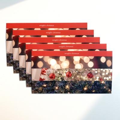 밍키트 크리스마스 페이크마테 스티커