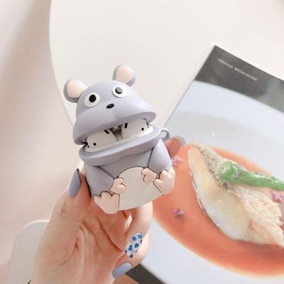애니 캐릭터 실리콘 쥐 에어팟 1세대 2세대 케이스