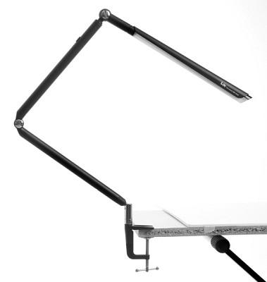[LED스탠드] 책상/학생/인테리어/제도용/집게스텐드 아이클  WJK-151C Black