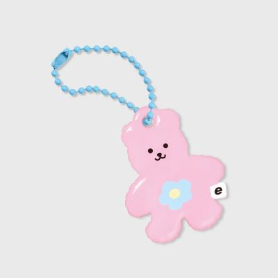 Blossom bear friends-pink(PVC키링)