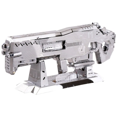 [3D퍼즐마을][MU] YM-N008 스페이스 라이플-실버