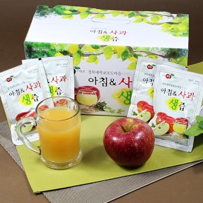 경북대학교포도마을 아침앤사과생즙 100m x 60팩