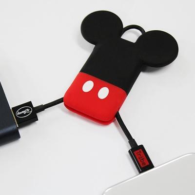 [트라이브] 디즈니 캐릭터 키링 USB 라이트닝 케이블