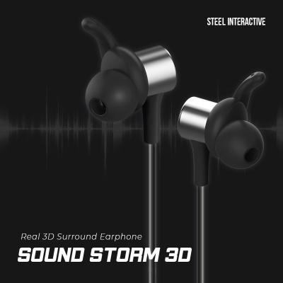 3D 서라운드 블루투스 게이밍 이어폰 / 사운드스톰 3D