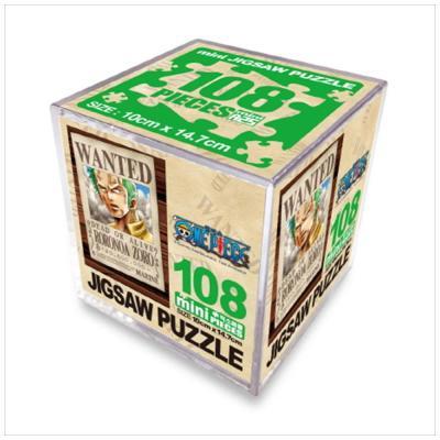 원피스 직소퍼즐 미니 Cube 108pcs: 조로