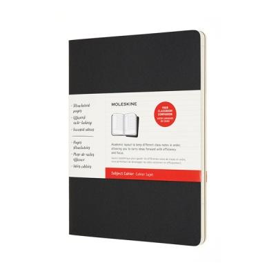 몰스킨 까이에 서브젝트/블랙&크래프트브라운 XL