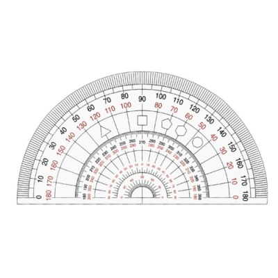 [송화산업] 각도기(NO.007) [개/1] 351189