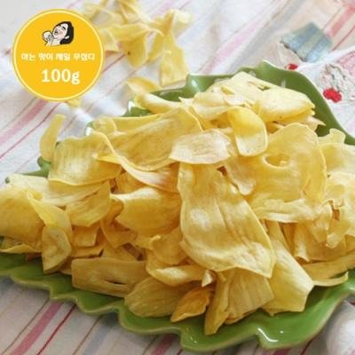[태국과자여행] 잭푸르트 칩 100gx2봉