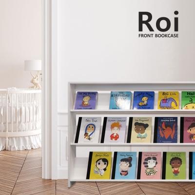 [꼬메모이] 로이 전면책장 1600 / 학습 책장