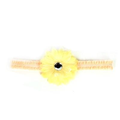 [헤어보우]Dahlia 베이비밴드-Yellow