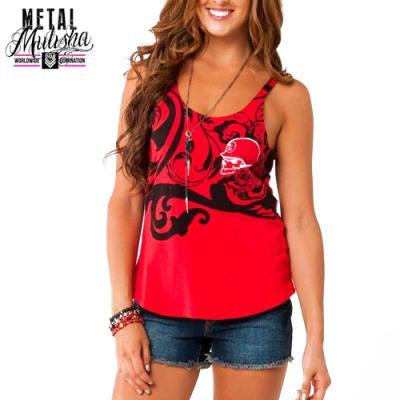 PETAL TANK TOP (RED)