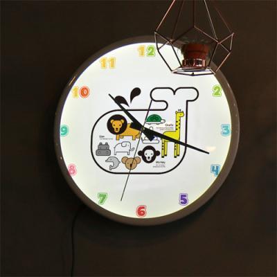 nf220-LED시계액자35R_상상동물원