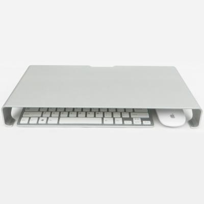 폭490 컴퓨터모니터 알루미늄 선반 스탠드 받침대